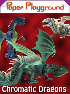 Paper Playground - Chromatic Dragons