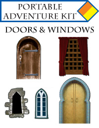 Portable Adventure Kit - Doors and Windows
