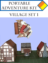 Portable Adventure Kit - Village Set 1 Cover
