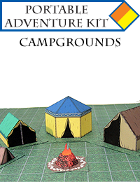 Portable Adventure Kit - Campgrounds